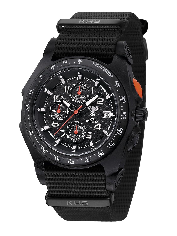KHS Uhr Sentinel AC Black Natoband Black KHS.SEACB.NB *** Neuheit 2015 ***