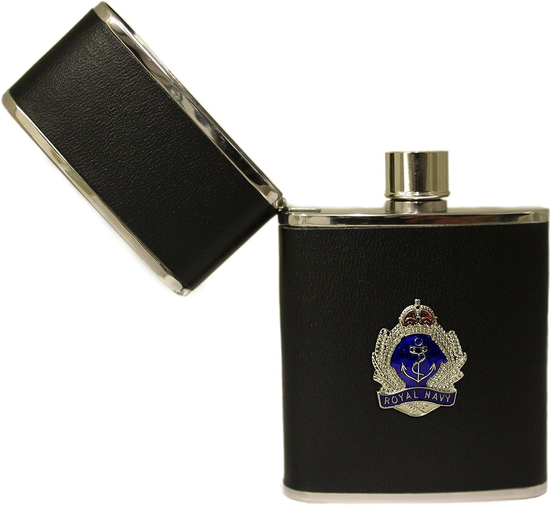 Royal Navy 2.5oz hip flask