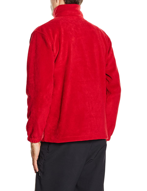 Result Polartherm Jacket Manteau Homme Rouge
