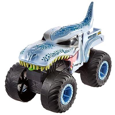 Hot Wheels Monster Trucks 1: 24 Mega Wrex: Toys & Games