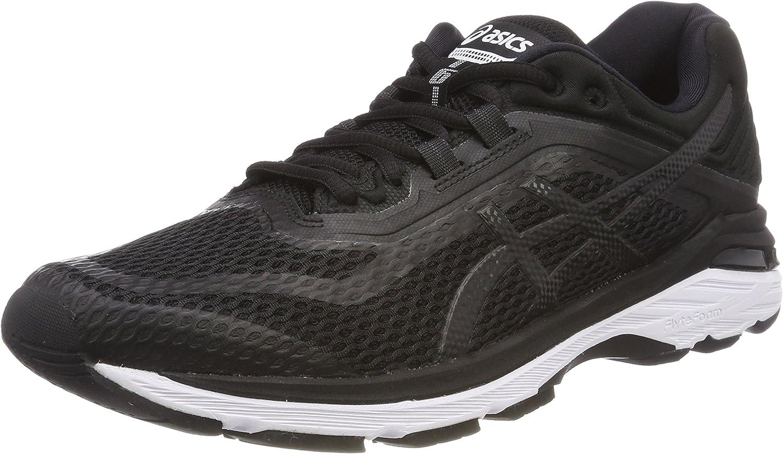 Asics Gt-2000 6, Zapatillas de Entrenamiento para Mujer, Negro (Black/White/Carbon 9001), 35.5 EU: Amazon.es: Zapatos y complementos