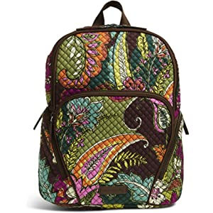 44ee35633 Amazon.com | Vera Bradley Leighton Backpack, Signature Cotton ...
