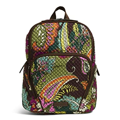 a6f8de56e Amazon.com: Vera Bradley Hadley Backpack, Signature Cotton: Shoes
