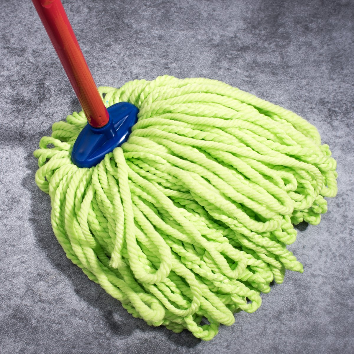 QIPENG 12'' Professional Microfiber Mop Head 4 Pack, Washable Wet and Dry Mop Heads, Super Absorbent Mop (Green) by QIPENG (Image #6)