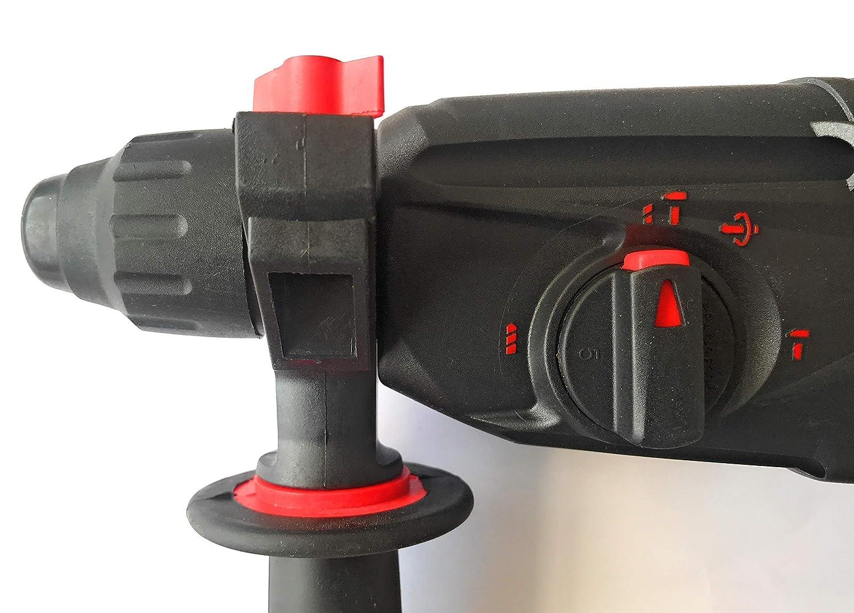 Martillo Percutor Ligero Ronix SDS-PLUS Electronico de 0-1100rpm Reversible Taladro 800w 3 modos de trabajo 3 Julios de potencia de impacto Hasta broca de 26mm