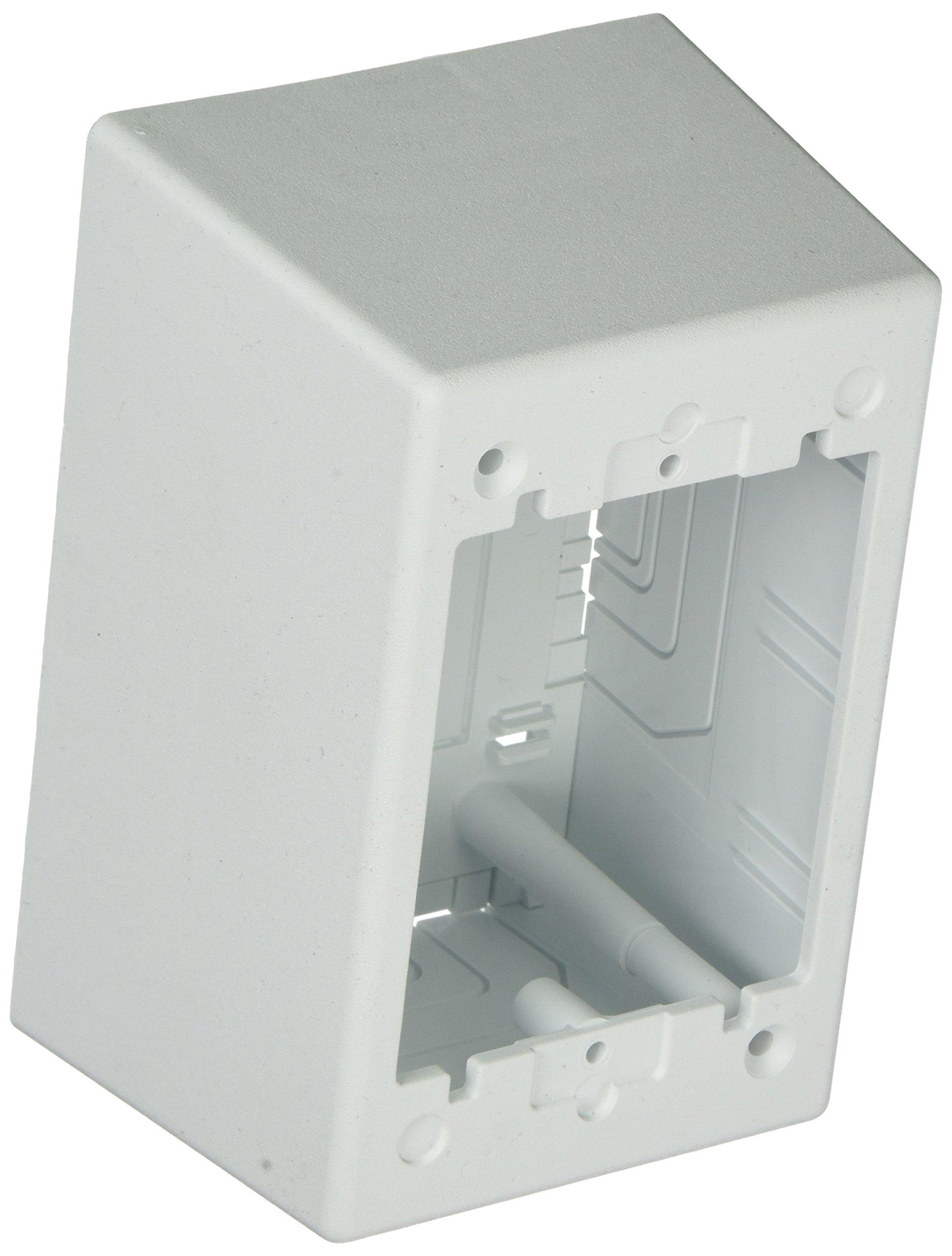 Panduit JBP1DWH 1-Gang Deep Outlet Box, White