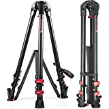 """IFOOTAGE Camera Tripod 59"""" Professional Heavy Duty Aluminum Video Tripod Ajustable Stand Max Loading 88lbs for DSLR Camcorder Video Shooting Photography"""