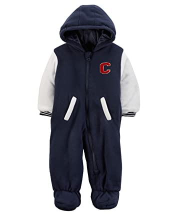 d76ed0ced Amazon.com  Carter s Baby Boys  Zip-Front Snowsuit (6-9 Months