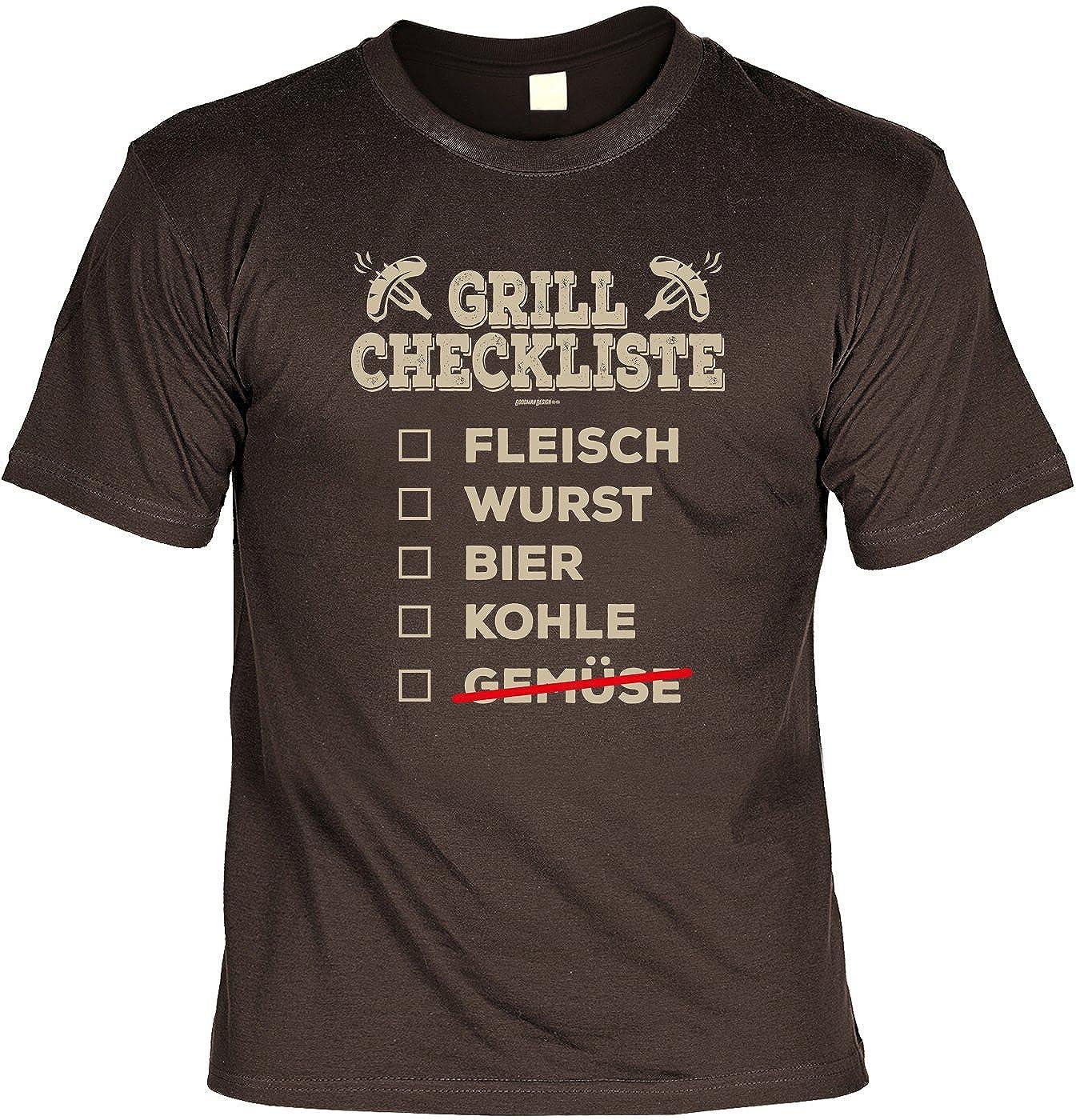 Unbekannt Griller Weihnachtsgeschenk-Set - Sprüche T-Shirt + ...