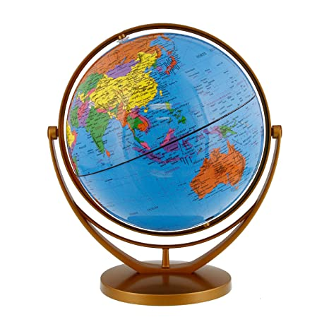 Amazon tcp global 8 20cm blue ocean desktop world globe gold tcp global 8quot 20cm blue ocean desktop world globe gumiabroncs Image collections