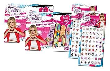 ziemlich cool letzte Auswahl am besten auswählen Craze 55534 - Slap Snap Bands und Klebeohrringe, Disney Violetta ...