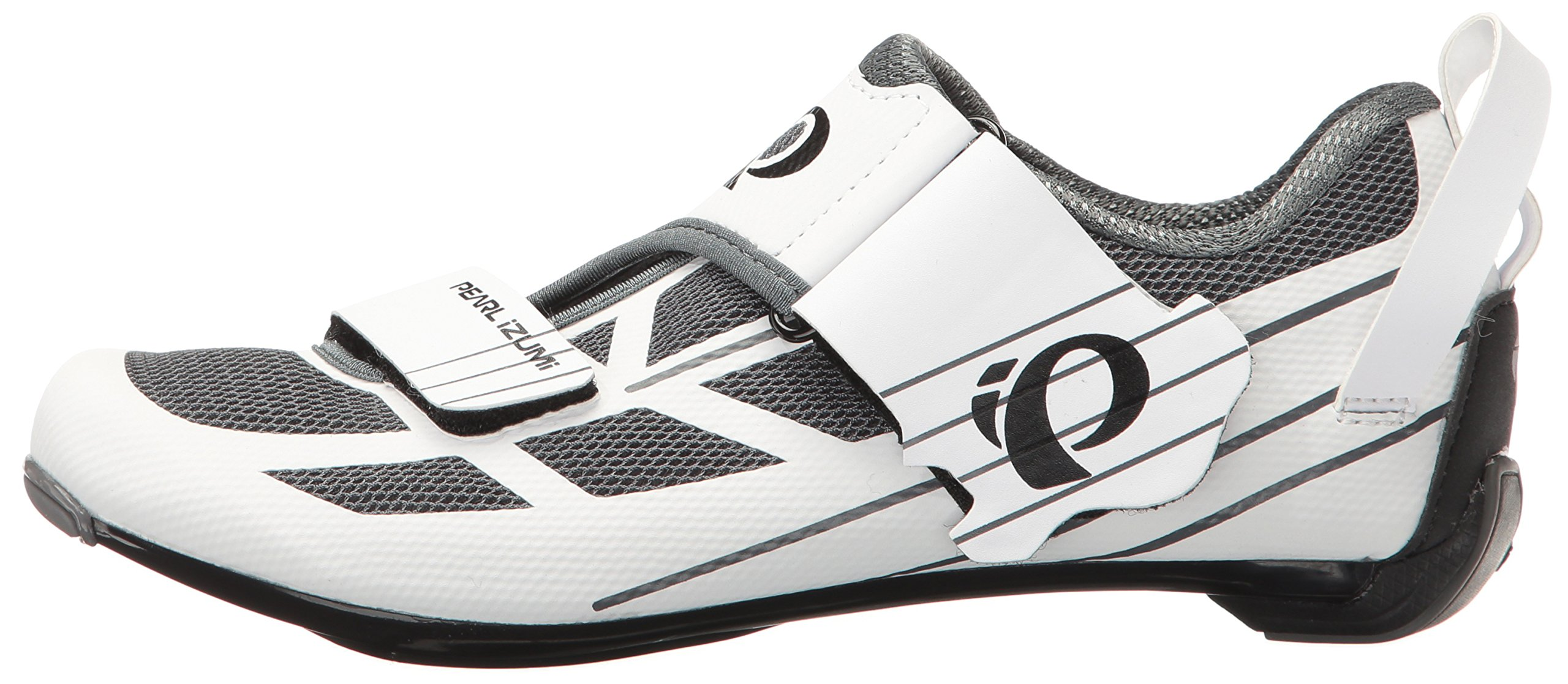 Pearl iZUMi Women's W Tri Fly Select V6 Cycling Shoe, White/Shadow Grey, 42 EU/10 B US by Pearl iZUMi (Image #5)