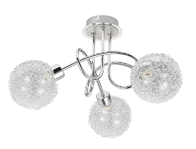 Plafoniere Per Palestra : Trango lampada da soffitto led plafoniera ideale per bagno