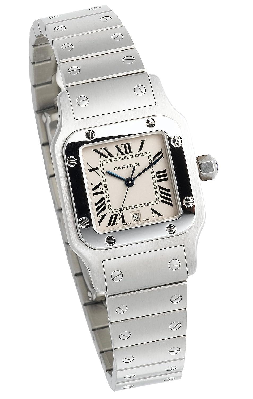 Sapphire Crystal Watch, Cartier Watch, Luxury Watch, Steel