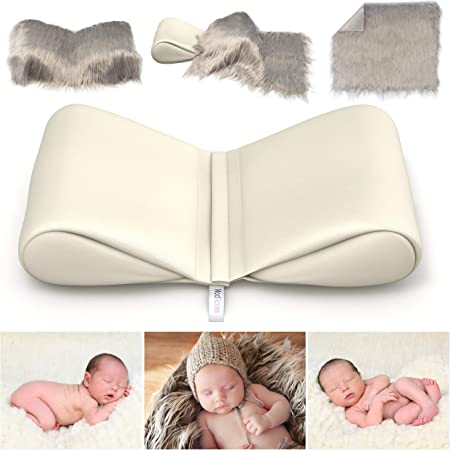 UK Newborn Photography Butterfly Posing Pillow Basket Filler Baby Photo Props