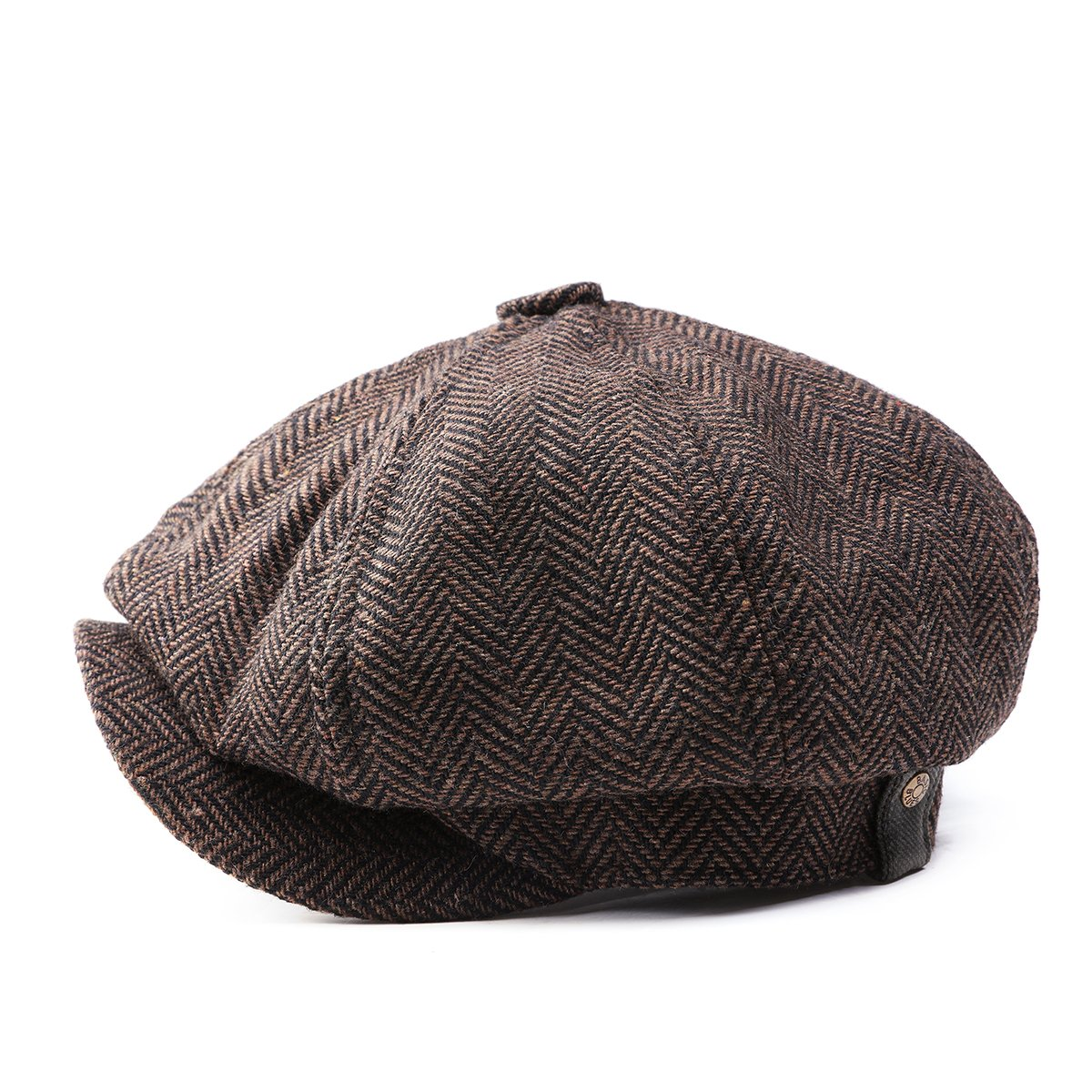 b77a77b3 GESDY Mens Vintage Newsboy Ivy Cap Flat Octagonal Golf Driving Hat Beret  Cabbie Gatsby at Amazon Men's Clothing store:
