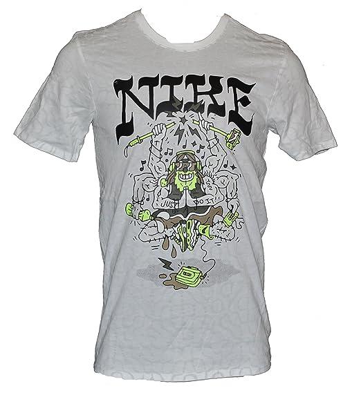 04d082a14a50 Nike Men s Air Logos Summer Festive Glow in The Dark T-Shirt Medium ...