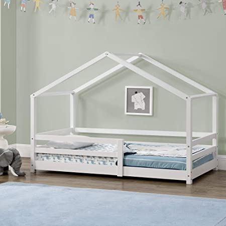 Cama para niños 80 x 160 cm Cama Infantil con Somier ...