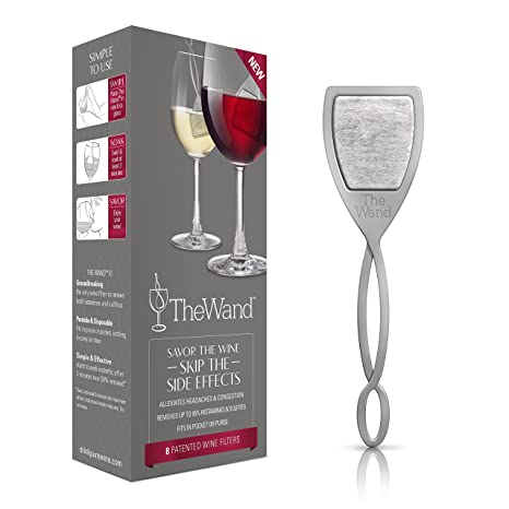 .com: the wand by purewine | removes histamines & sulfite ...