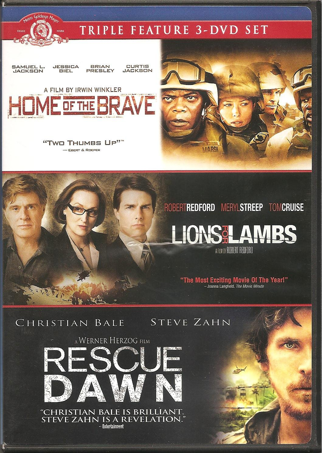 Home of the Brave / Lions for Lambs / Rescue Dawn