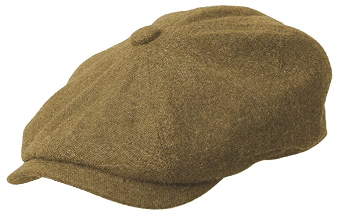 3eee82b871a ROOSTER Wool Tweed Newsboy Gatsby Ivy Cap Golf Cabbie Driving Hat at ...