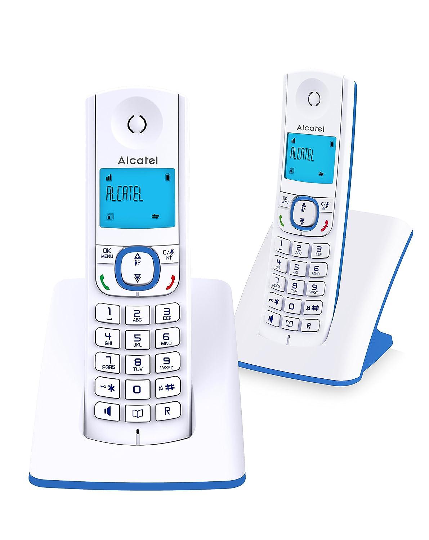 Alcatel F530 Té lé phone sans Fil Duo Bleu 3700601417043