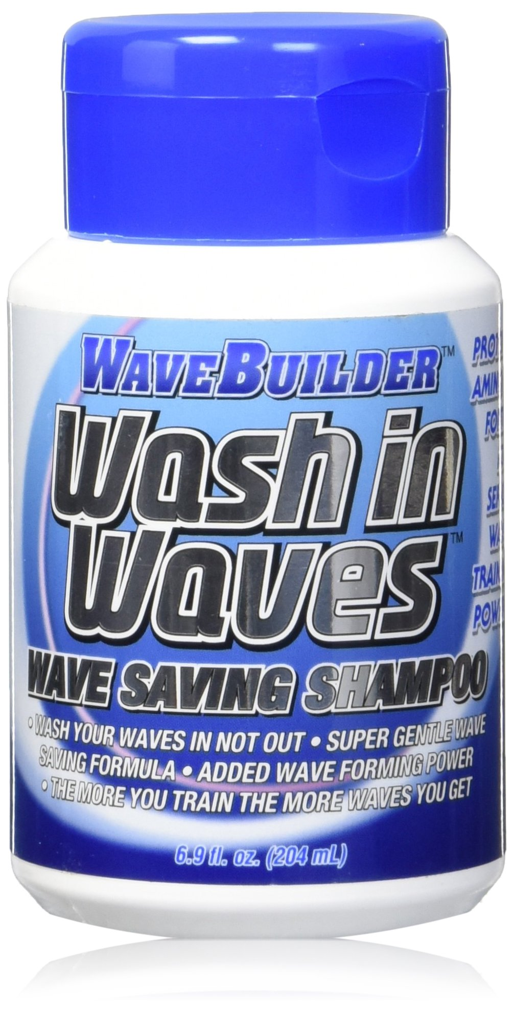 Wave Builder Wash In Waves Shampoo, 6.9 Ounce