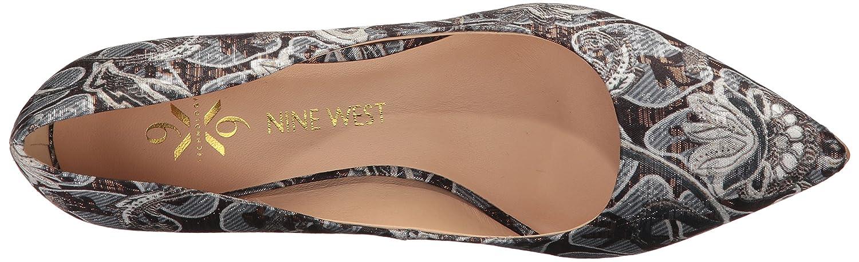 Nine West Women's FIFTH9X Fifth Pointy Toe Pumps B06XXM5KWF 11.5 B(M) US|Silver/Multi