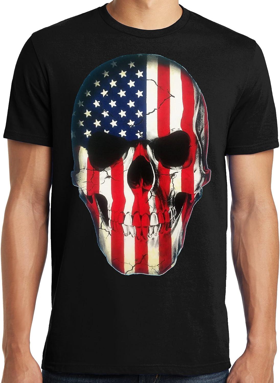 Big and tall t-shirt USA American flag tee shirt for men tall size bigmen
