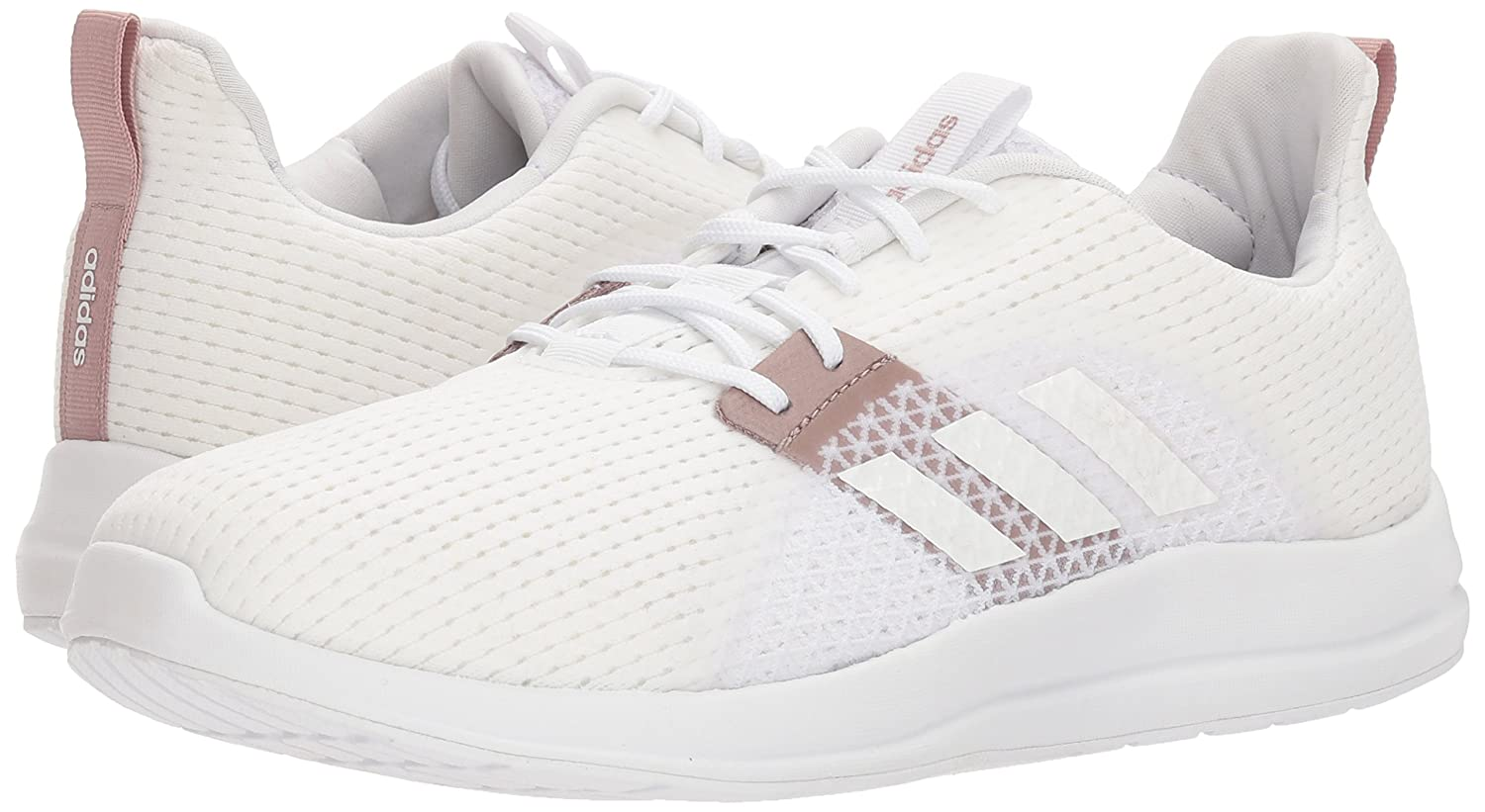 adidas Women's Element V Running Shoe B071S6C55S 8.5 B(M) US|White/White/White Tint
