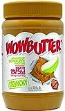 Wowbutter 100 Percent Nut Free Peanut Butter Crunchy 500 g (Pack of 3)