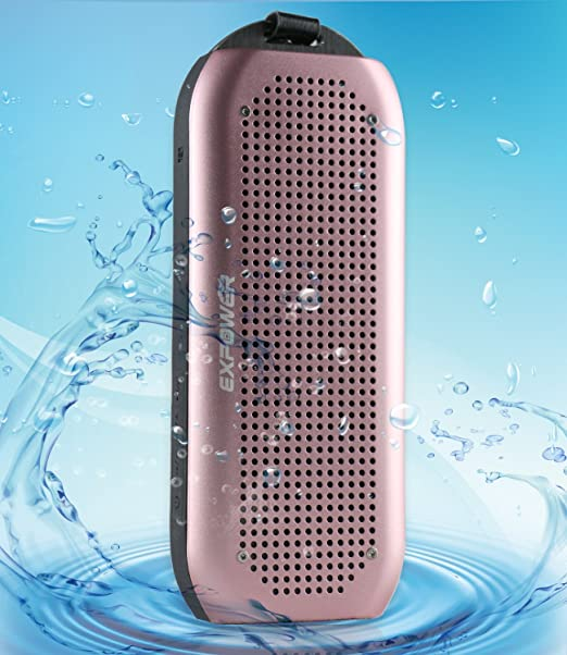 15 opinioni per Expower Altoparlante Impermeabile Bluetooth V4,0 NFC IPX7 Stereo Speaker