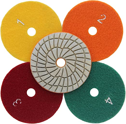 4 Inch Diamond Polishing Pads Super Thick 20 PIECES Granite Concrete Marble AA