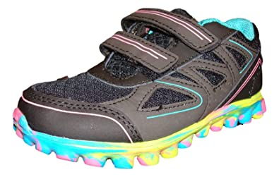26ef09673b5ab Image Unavailable. Image not available for. Color  Champion C9 Girls  Premiere Black Pink Running Shoe ...