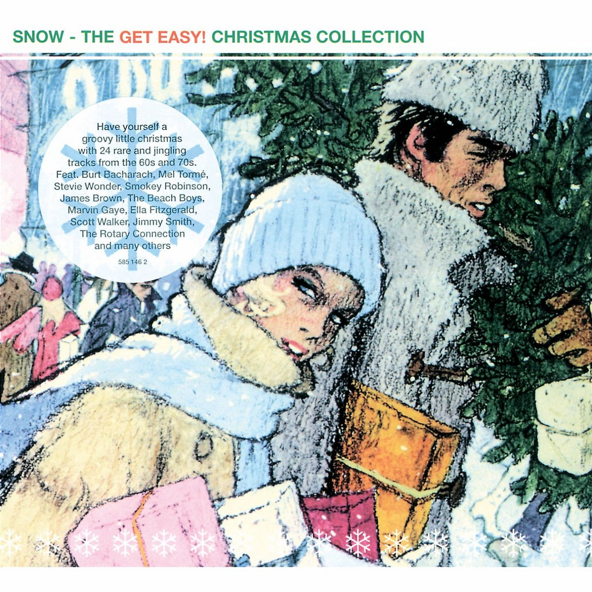 SNOW – THE GET EASY Christmas Downloading Album von Various Artists
