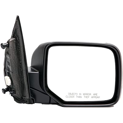 Dorman 955-1719 Passenger Side Power Door Mirror - Folding for Select Honda Models, Black: Automotive