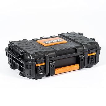 RIDGID 54338 Caja de herramientas organizadora profesional, Caja manual de herramientas para uso con la