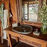 Waschbecken Rustikal festnight waschbecken holz becken waschschale aus massives teakholz