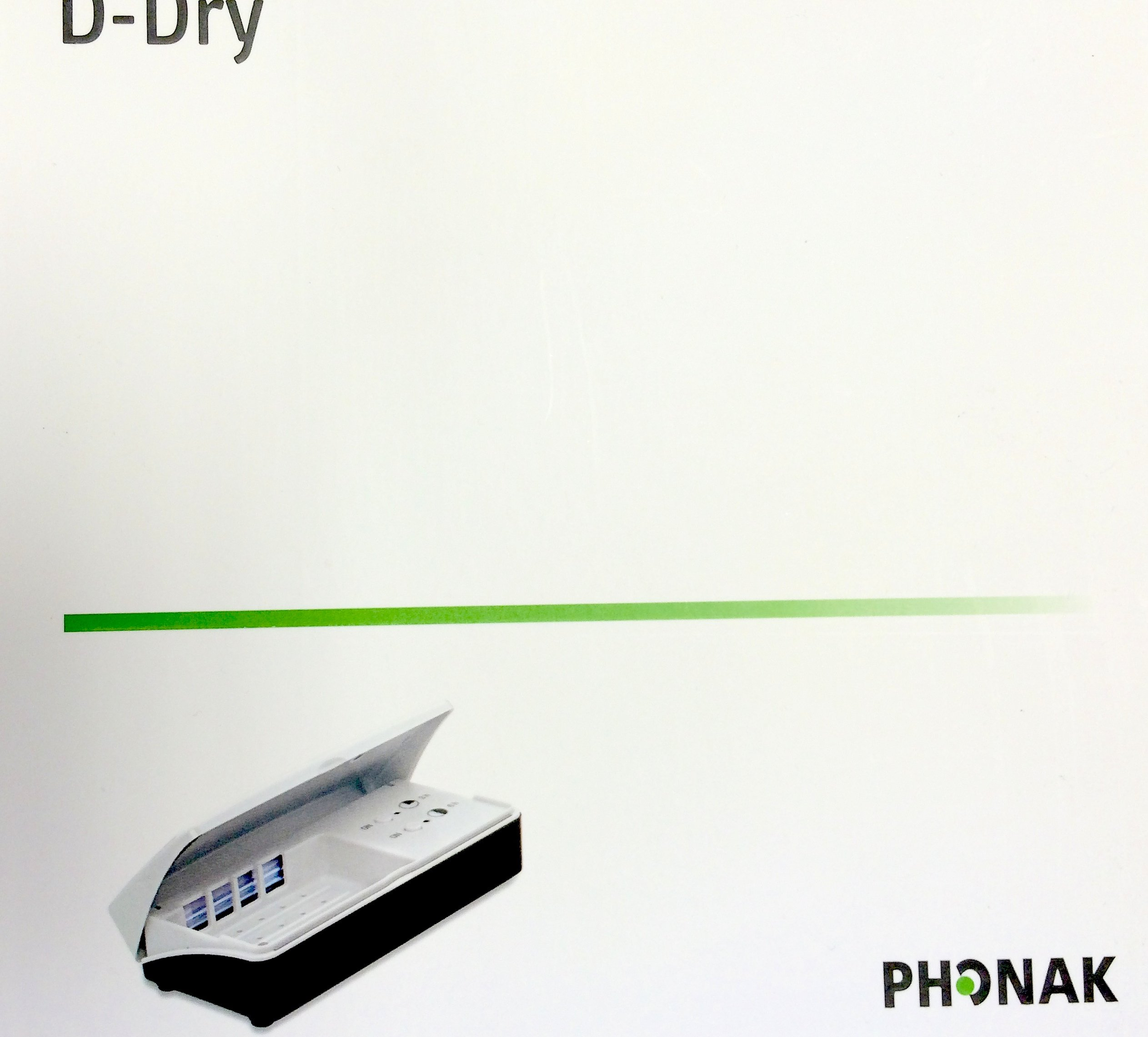 D-Dry Phonak Drying Hearing System by Hearing Aid Battery Club