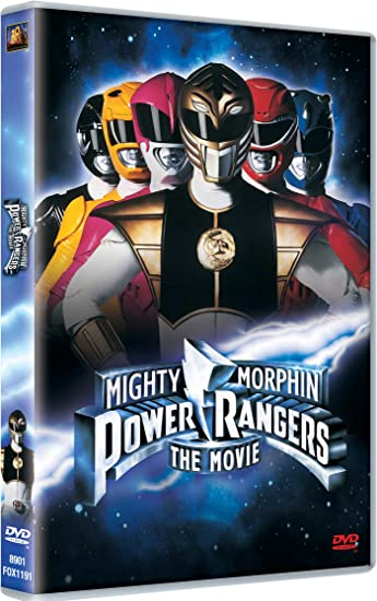 mighty morphin power rangers the movie dvd cover www