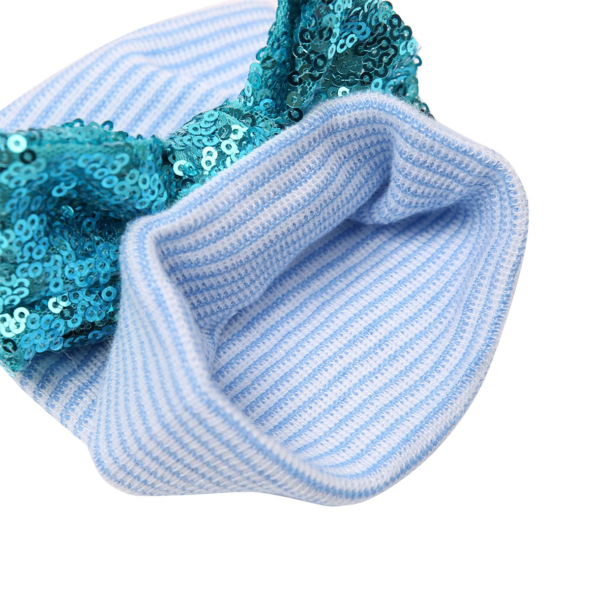 iEFiEL Newborn Babys Cotton Bling Bow Soft Hospital Beanie Push Gift Photo Props Hat