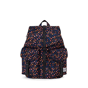 9c78c1b247 HERSCHEL DAWSON X-SMALL 13L BACKPACK (BLACK MINI FLORAL BLACK SYNTHETIC  LEATHER). Roll over image to zoom in