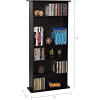 Atlantic DrawBridge 240 Media Storage & Organization Cabinet (Black)