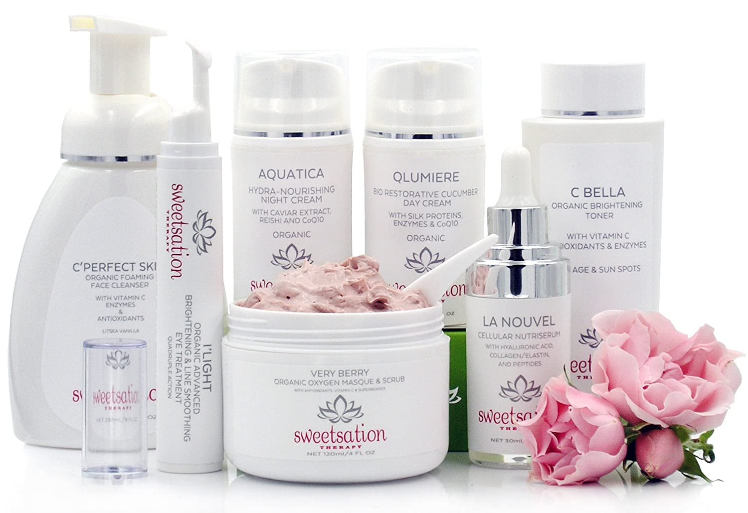 organic face products