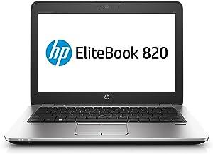 "HP 1FX37UT#ABA Elitebook 820 G4 12.5"" Notebook, Windows, Intel Core I5 2.5 Ghz, 8 GB Ram, 256 GB SSD, Silver"