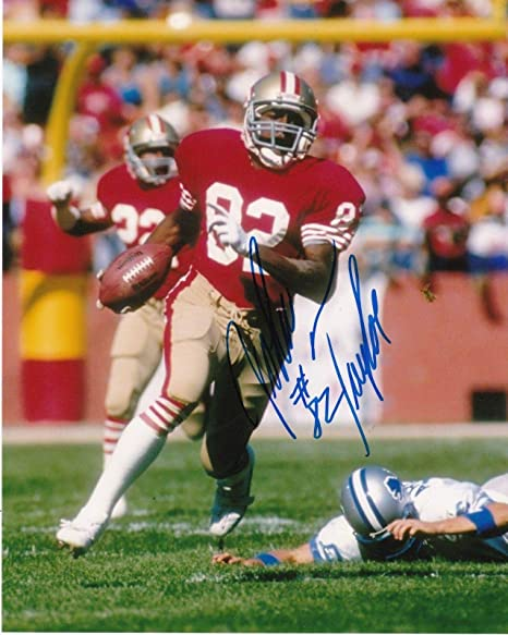 4d3e6495b Autographed John Taylor Photo - 8x10 - Autographed NFL Photos at ...