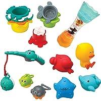 Infantino Splish & Splash 17 Piece Baby Bath Play Set, Multicolor