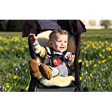 Baa Baby All Style Sheepskin Stroller/Car Seat Liner