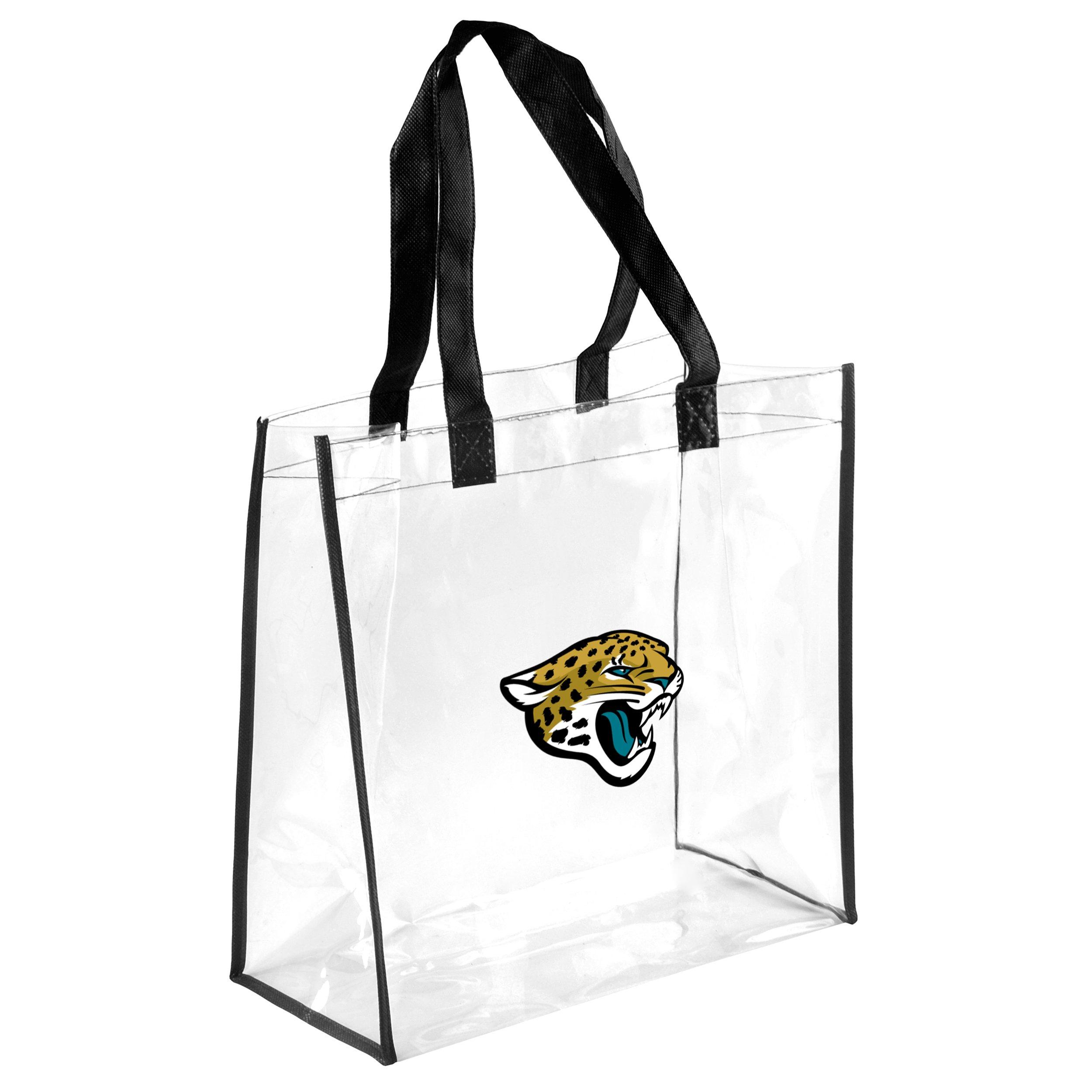 FOCO Jacksonville Jaguars Clear Reusable Bag