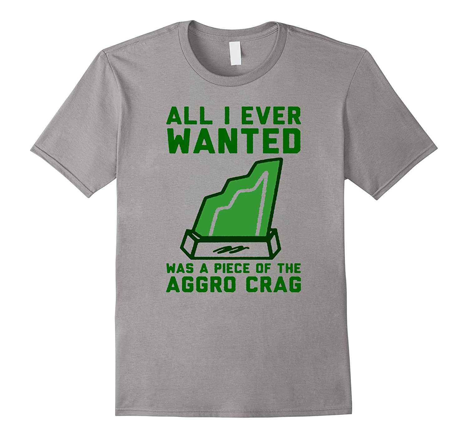 ALL I EVER WANTED WAS A PIECES OF THE AGGROS CRAGS TSHIRT-Art
